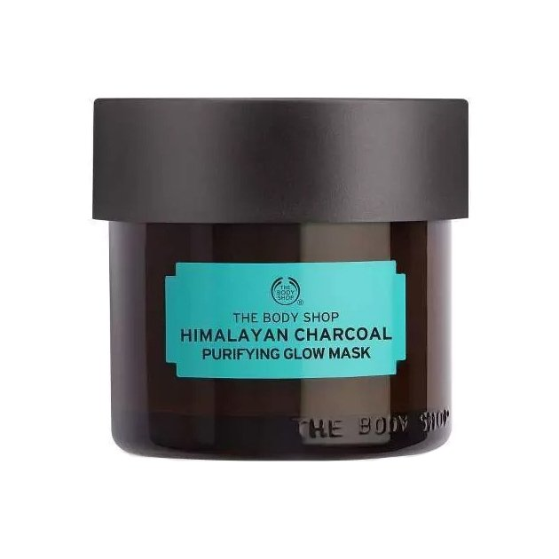 The Body Shop Himalayan Charcoal Purifying Glow Mask-0