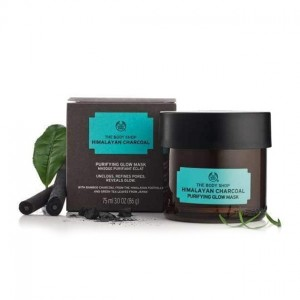 The Body Shop Himalayan Charcoal Purifying Glow Mask-4300
