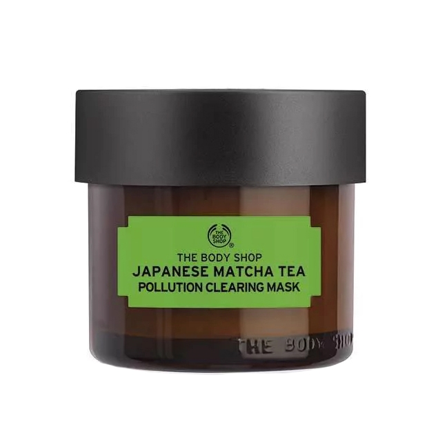 The Body Shop Japanese Matcha Tea Pollution Clearing Mask-0