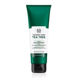 The Body Shop Tea Tree 3-in-1 Wash Scrub Mask-0