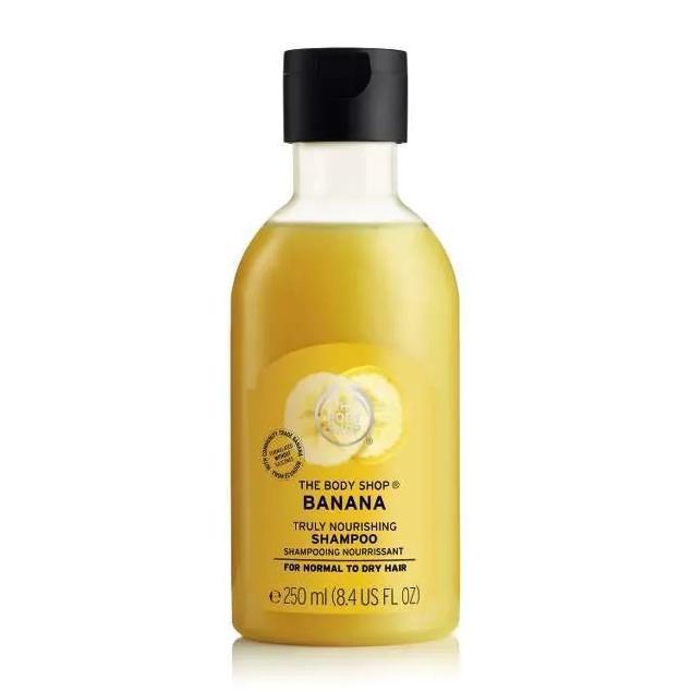 The Body Shop Banana Truly Nourishing Shampoo-0