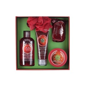 The Body Shop Strawberry Deluxe Gift Set-0