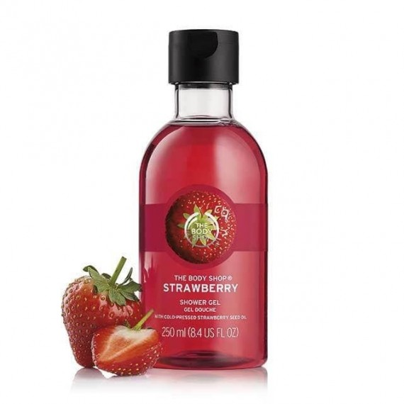 The Body Shop Strawberry Shower Gel-0