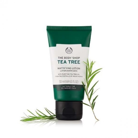 The Body Shop Tea Tree Mattifying Lotion-0
