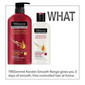 TRESemmé Shampoo Keratin Smooth -8173