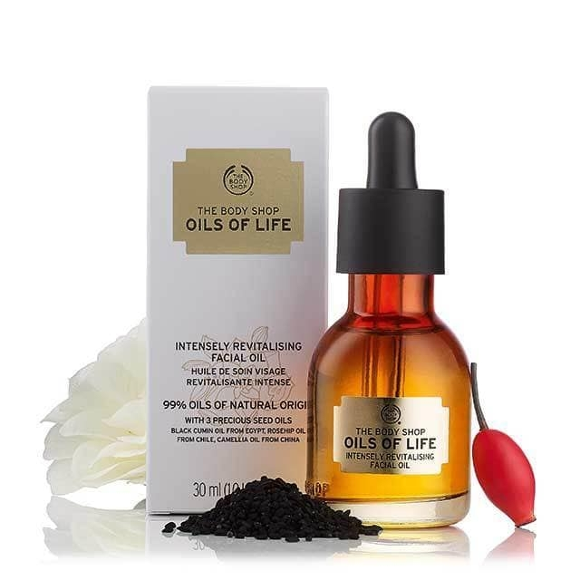 The Body Shop Oils Of Life Intensely Revitalising Facial Oil-5613