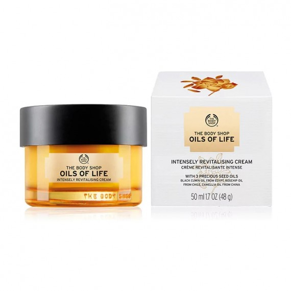 The Body Shop Oils Of Life™ Intensely Revitalising Cream-0