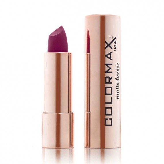 Colormax Matte Lovers Matte Lipstick - 26 Plum Obsession-0