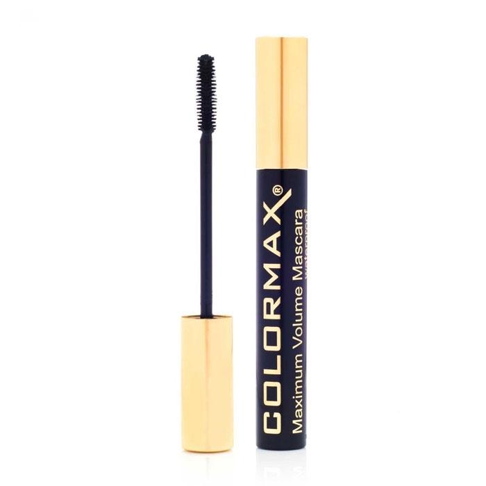 Colormax Maximum Volume Waterproof Mascara - Black-0