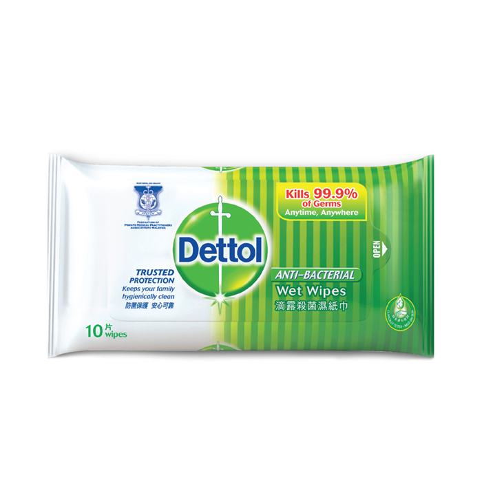 Dettol Anti Bacterial Wet Wipes-0