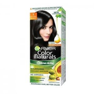 Garnier Color Naturals Shade 1 Natural Black 60ml+50g-0
