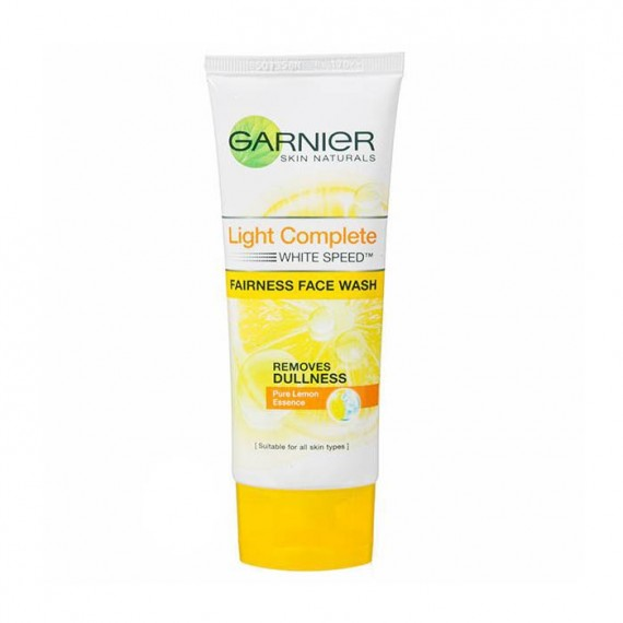 Garnier Skin Naturals Light Complete White Speed Fairness Face Wash-0