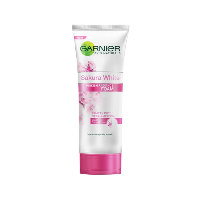 Garnier Skin Naturals Sakura White Pinkish Radiance Foam-0