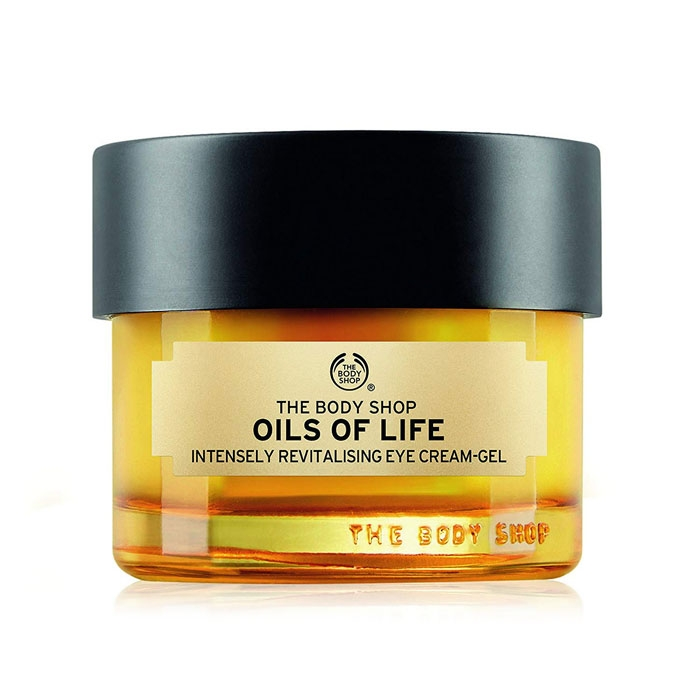 The Body Shop Oils Of Life Intensely Revitalising Eye Cream Gel-0