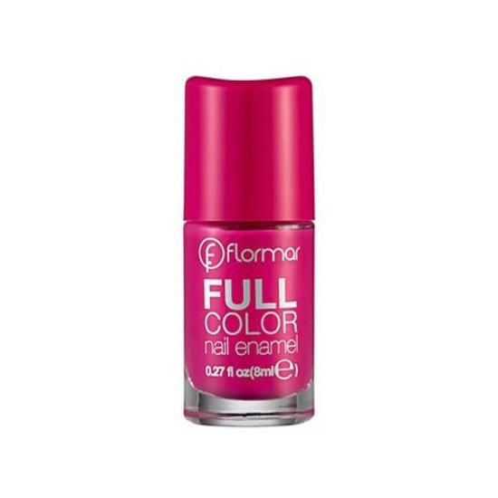 Flormar Full Color Nail Enamel - FC51 Funky Magenta-0