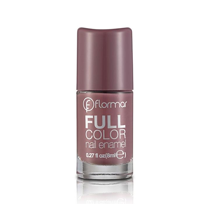 Flormar Full Color Nail Enamel - FC62 Berry Brown-0