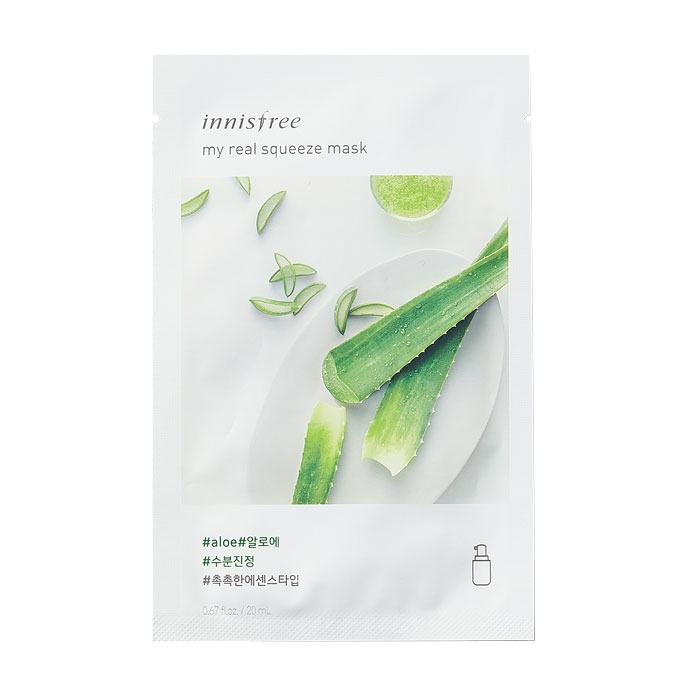 Innisfree My Real Squeeze Mask - Aloe-0