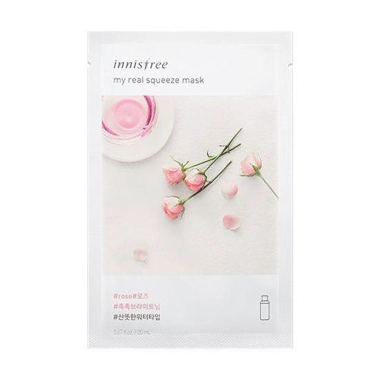 Innisfree My Real Squeeze Mask - Rose-0