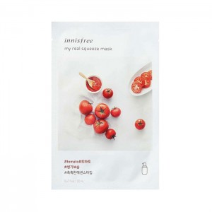 Innisfree My Real Squeeze Mask - Tomato-0