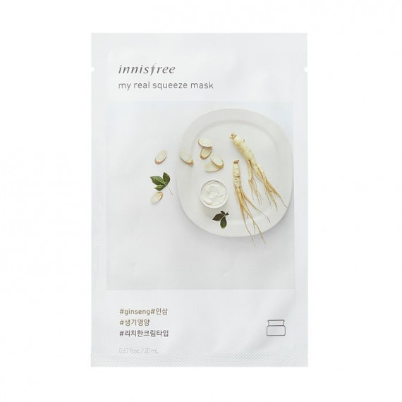 Innisfree My Real Squeeze Mask - Ginseng-0