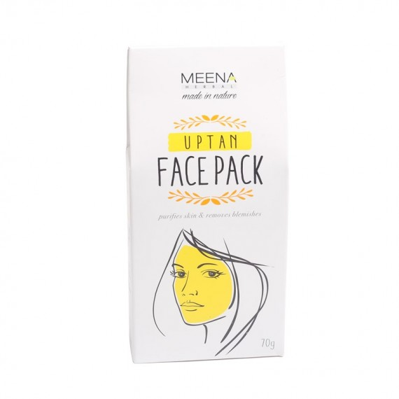 Meena Herbal Uptan Face Pack -0
