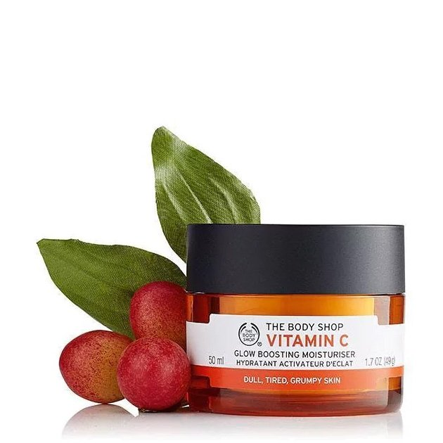 The Body Shop Vitamin C Glow Boosting Moisturiser-6409