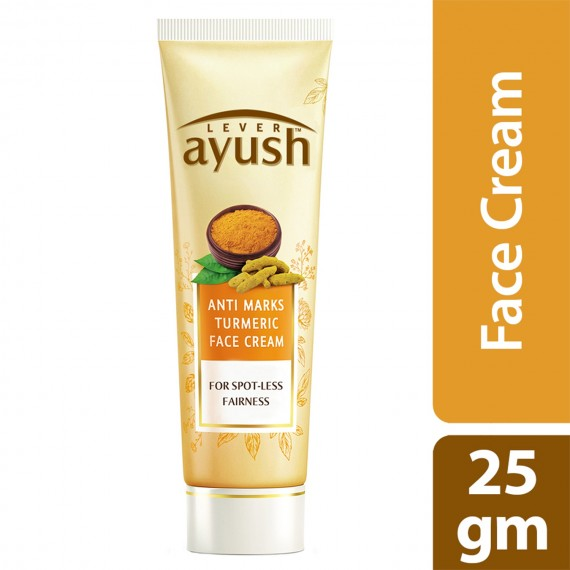 Lever Ayush Face Cream Anti Marks Turmeric -0