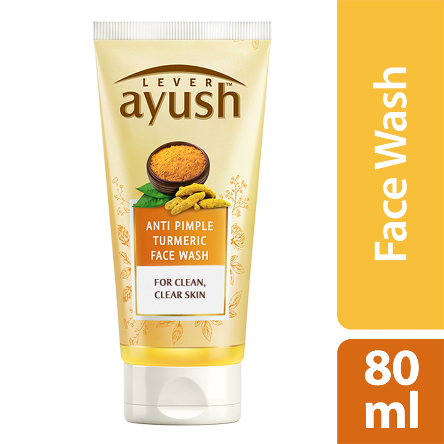 Lever Ayush Face wash Anti Pimple Turmeric-0