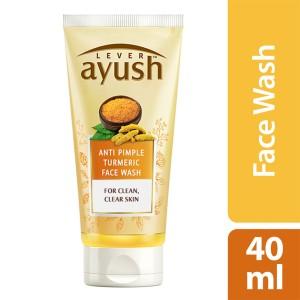 Lever Ayush Face wash Anti Pimple Turmeric -0