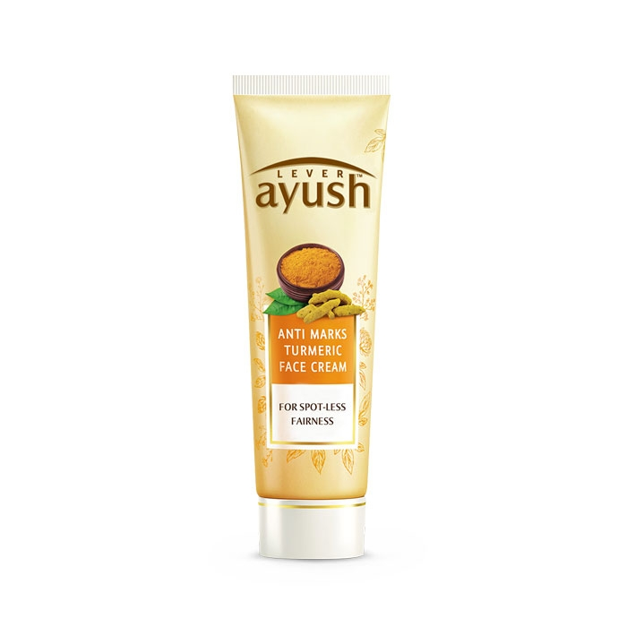 Lever Ayush Face Cream Anti Marks Turmeric -6710