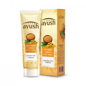 Lever Ayush Face Cream Anti Marks Turmeric -6712