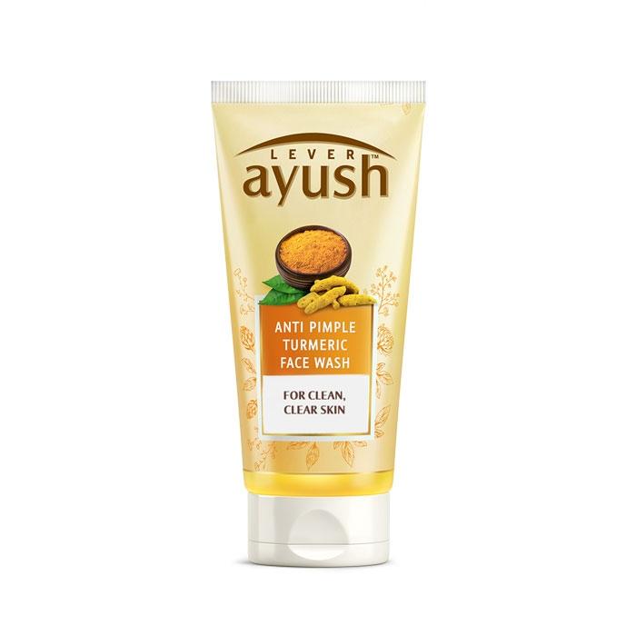 Lever Ayush Face wash Anti Pimple Turmeric -6720