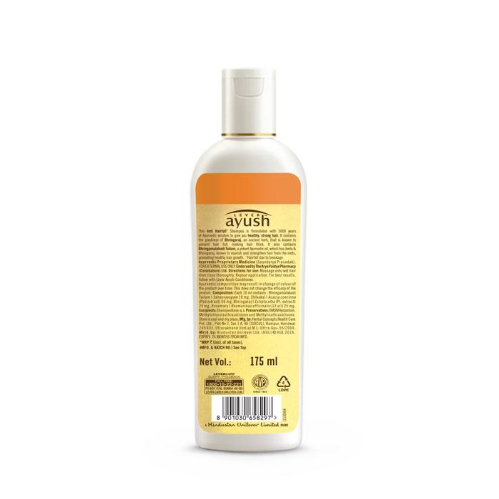 Lever Ayush Shampoo Anti Hair Fall Bhringraj -6730