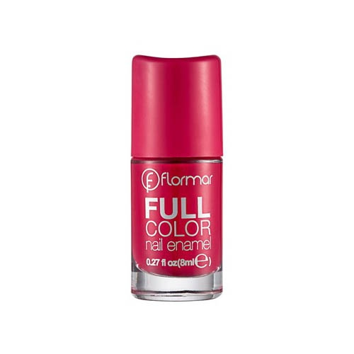 Flormar Full Color Nail Enamel - FC13 Raspberry-0