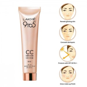 Lakme 9 to 5 Complexion Care Cream - Beige-6757
