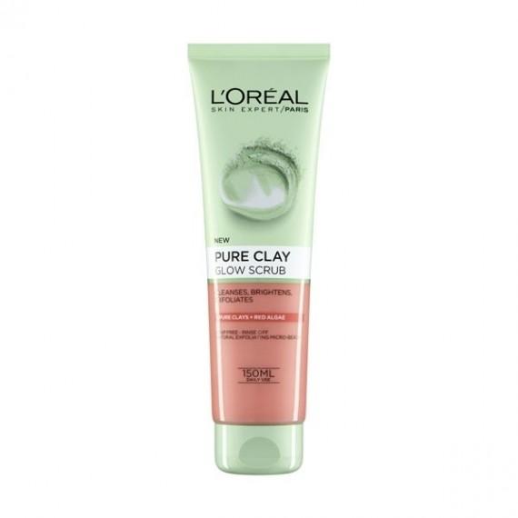 L'Oreal Pure Clay Glow Scrub-0