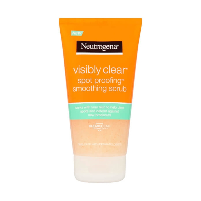 Neutrogena Visibly Clear Spot Proofing Smoothing Scrub-0