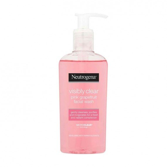 Neutrogena VISIBLY CLEAR Pink Grapefruit Facial Wash-0