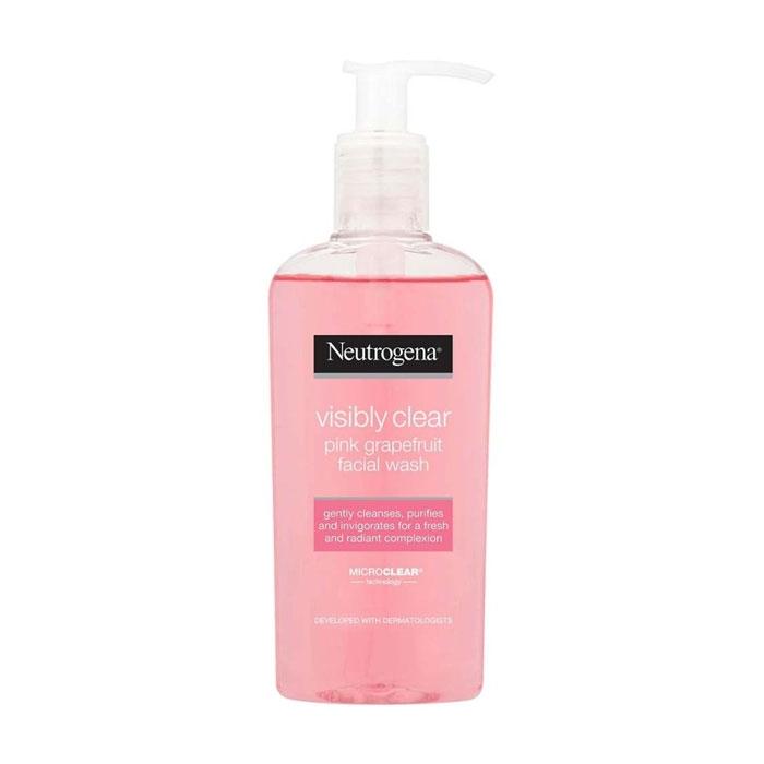 Neutrogena VISIBLY CLEAR Pink Grapefruit Facial Wash-0