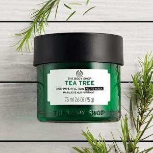 The Body Shop Tea Tree Anti-Imperfection Night Mask-6762
