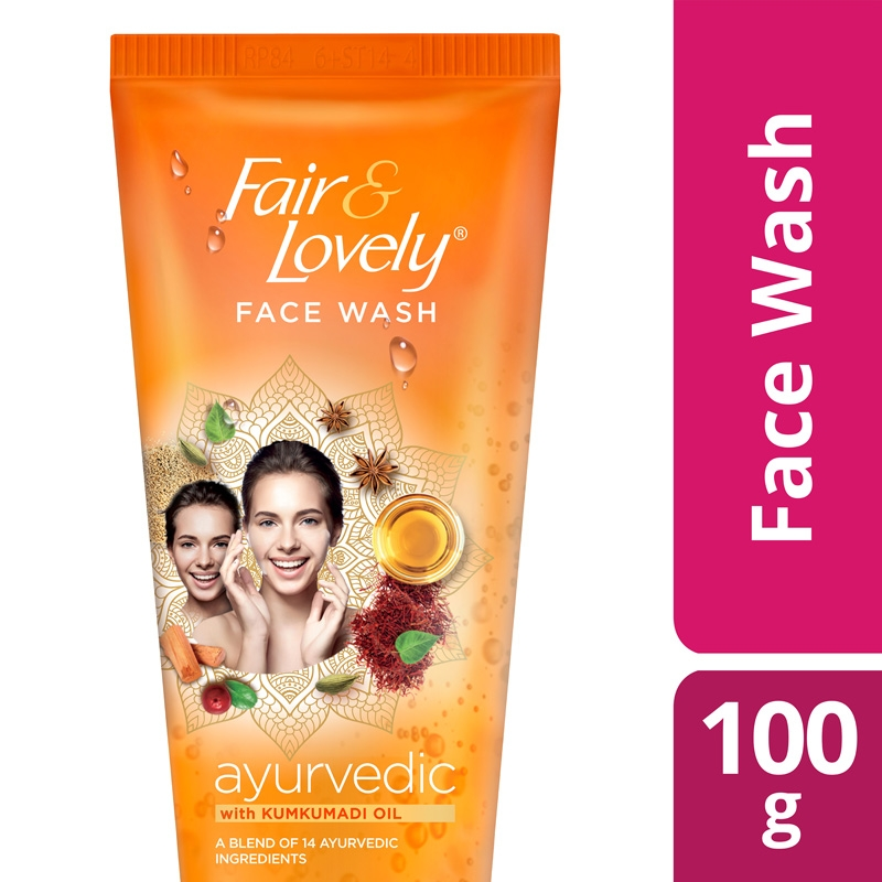 Fair And Lovely Face Wash Ayurvedic-0