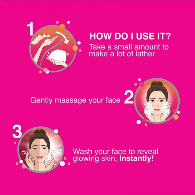Fair And Lovely Face Wash Insta Glow-8378