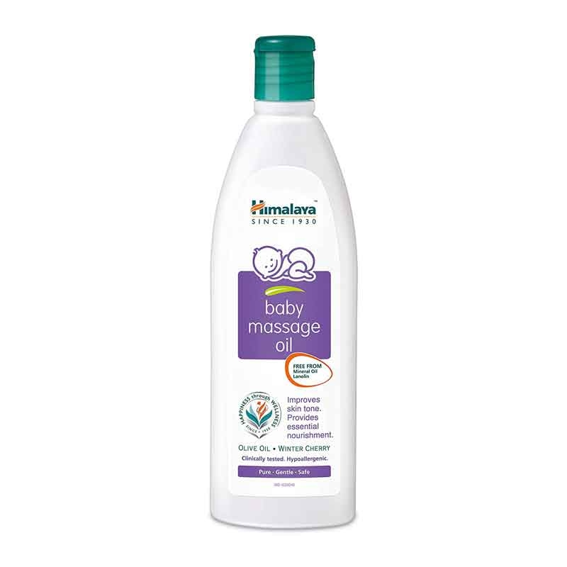 Himalaya Baby Massage Oil-0