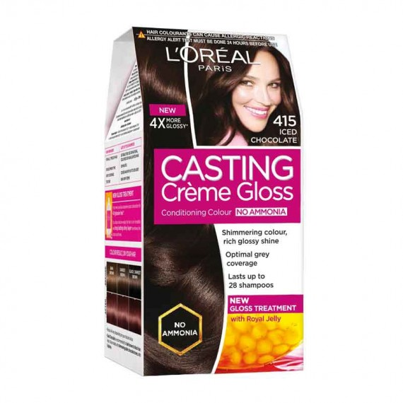 L'Oréal Paris Casting Creme 415 Iced Chocolate-0