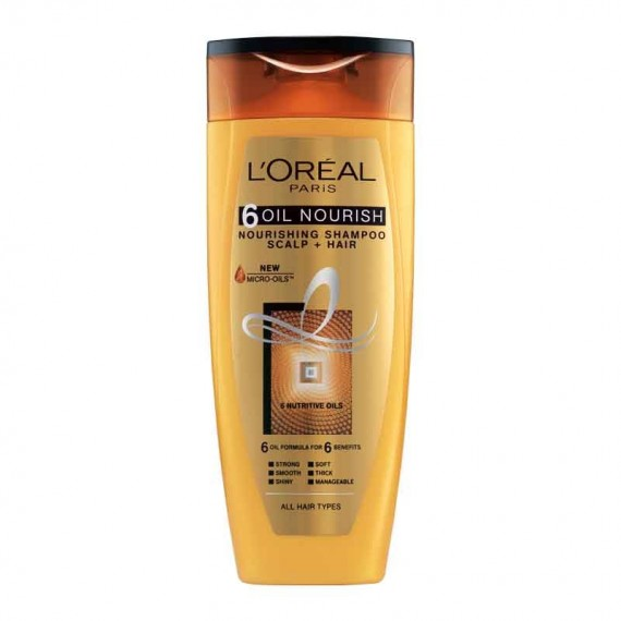 L'Oréal Paris 6 Oil Nourish Shampoo-0