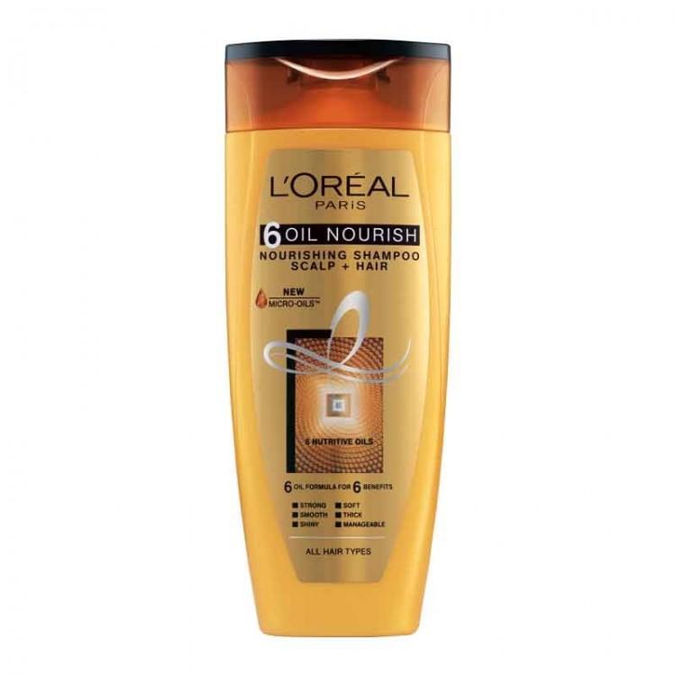 L'Oréal Paris 6 Oil Nourish Shampoo-0