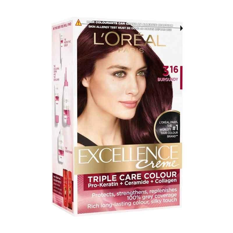 L'Oréal Paris Excellence 3.16 Burgundy Small-0