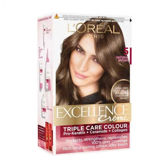 L'Oréal Paris Excellence 5 Brown-0