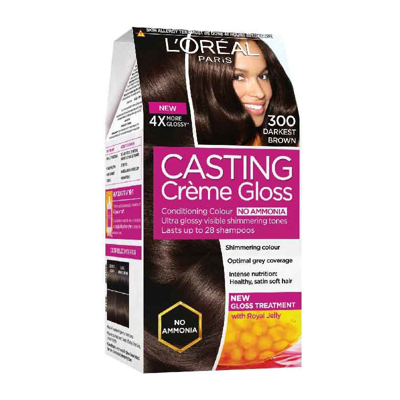 L'Oréal Paris Casting Creme 300 Darkest Brown-0