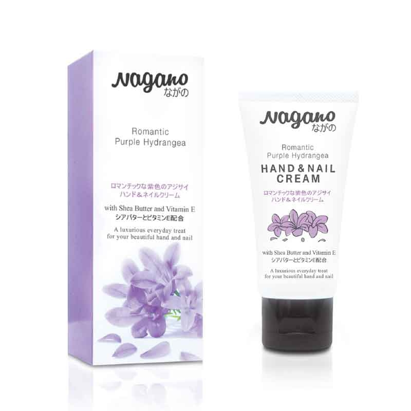 Nagano Romantic Purple Hydrangea Hand & Nail Cream-0